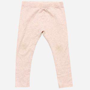 Pink w/Grey Stripes Leggings